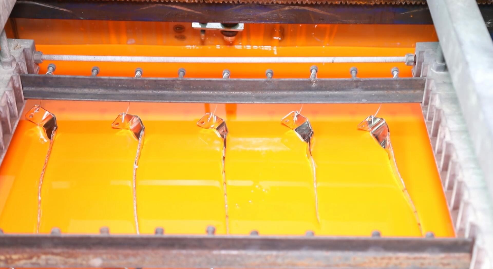 Introduction to the technology of dipping copper busbar
